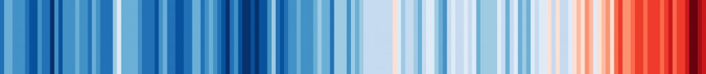 This image has an empty alt attribute; its file name is Climate-Change-Stripes-1024x108.jpg